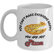 Can't Make Everyone Happy Without Pizza Cheese Party Coffee Mug For Pizza Lovers