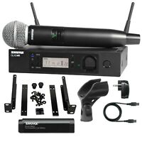 Shure GLXD24R/SM58-Z2 Band Handheld Digital Wireless Microphone System