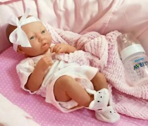 Realistic Berenguer La Newborn Baby Girl Doll Anatomically Correct + Accessories