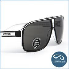 NEW Carrera Grand Prix 2 Polarised Black Crystal White Grey (7C5) Sunglasses