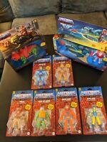 "Masters Of The Universe He-Man 6""Figure Set MOTU Retro Play 2"