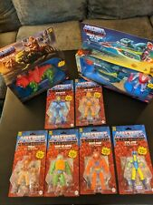 Masters Of The Universe He-Man 6?Figure Set MOTU Retro Play 2