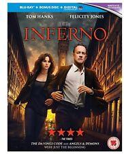 BLURAY Inferno Blu-ray 2016 Region Tom Hanks