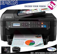 IMPRESORA MULTIFUNCION EPSON WF 2750DW TINTA INYECCION USB A4 WIFI FAX DUPLEX