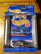 1999 Hot Wheels Final Run Retiring Models #8/12 ~ '93 Camaro (3D)