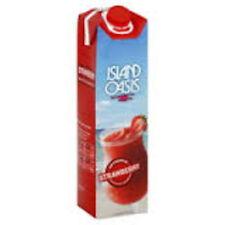 Island Oasis Premium Strawberry Drink Mix, 1 Liter Bottle
