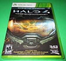 Halo 4 -- Game of the Year Edition Microsoft Xbox 360 *New-Sealed-Free Ship!
