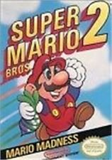 ***SUPER MARIO BROS 2 NES NINTENDO GAME COSMETIC WEAR~~~