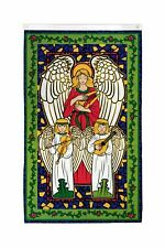 Joyous Angels Flag 3x5ft Holiday House Flag Seasonal Decor Christmas Flag Xmas