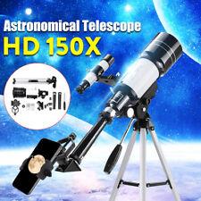 150X 70mm Telescopio Astronómico Monocular espacio De Aluminio De Vidrio Óptico +