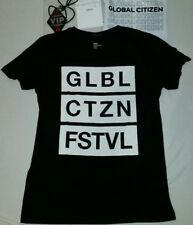 GLOBAL CITIZEN FESTIVAL Merchandise T-Shirt VIP-Pass Coldplay Shakira Grönemeyer