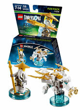 Lego Dimensions 71234 Sensei Wu Dragon Blanc Fun Pack. NEUF