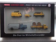 Wiking H0 Post Museums Shop 80-10 Die Post im Wirtschaftswunder Edition 2005 OVP