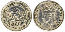 50 Cents 1948 Georgius VI Africa dell'Est East Africa #4824A