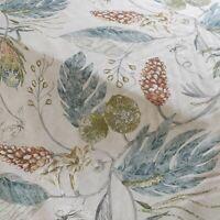 Harlequin Amborella Willow & Russet Curtain Craft Fabric 3 Metres Linen Mix