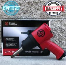 """CP-7736-2 Chicago Pneumatic Air Impact Wrench, Extended Anvil, 1/2"""" Drive, CP"""