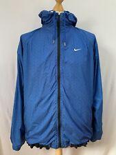 Men's |Nike Athletic Department Reversible Hooded Jacket | Blue | UK Size 42/44
