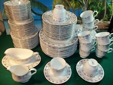 84 PIECE SET OF PAGODA CHINA - SUZANNE - MADE IN LILING CHINA