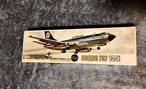 AIRFIX 1/144 SCALE LUFTHANSA BOEING 737-100