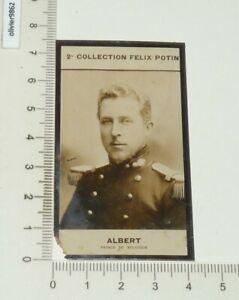 PHOTO IMAGE FELIX POTIN 2e ALBUM 1908 ALBERT BELGIQUE BELGIË 1er PRINCE ROI