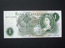 **Superb British** 'UNC'   £1  **Z07C**  1970  Page   Banknote*