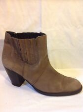 Bronx Brown Ankle Leather Boots Size 41