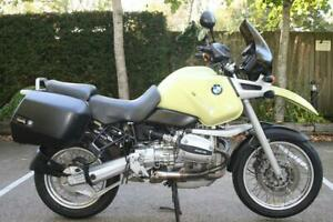 BMW R1100GS ABS IN KALAHARI YELLOW 1999 (V) ABS, PANNIERS AND HEATED GRIPS