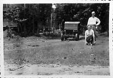 LAOS VIENTIANE PHOTO JEEP 1949
