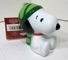 Hallmark Peanuts Snoopy Decoupage Hanging Christmas Tree Ornament New W/ Tag