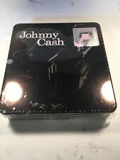 Johnny Cash Tin Box 3 Disc Set (2 CDs + 1 DVD) in Sealed Original Packaging