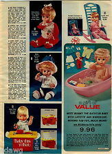 1978 ADVERTISEMENT Doll Baby Thumbles Ginny This 'N That Raggedy Ann Andy Holly