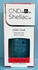 CND Shellac GLACIAL MIST ~ AURORA Holiday ~ glue/silver glitter Gel Power Polish
