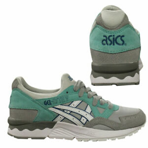 Asics Gel-Lyte V Womens Low Top Lace Up Grey Trainers H6S5L 1301 B3A