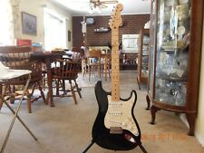 Fender Stratocaster Mexican MIM 2003 Deluxe Series Black Guitar