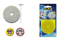 ORIGINALE Olfa RB60-1, 60mm Circolare cutter BLADE