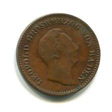 BADEN 1850 1/2 KREUZER