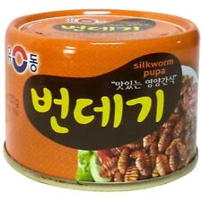 YOODONG Silkworm pupa Canned food 130g (123.5kcal) x 5 cans for Soju Beer