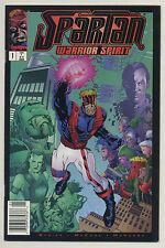 Spartan Warrior Spirit #1 1995 Newsstand $1.95 Price Variant Busiek McKone Image