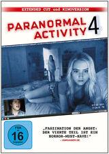 DVD * PARANORMAL ACTIVITY 4 (EXTENTED CUT + KINOFASSUNG)  # NEU OVP
