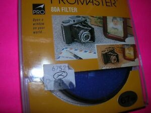 PROMASTER UNUSED 67MM FILTER 80A PERFECT BOXED FOR NIKON PENTAX 67 CANON