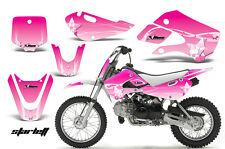 Decal Graphic Kit Wrap For Kawasaki KLX 110 2002-2009 KX 65 2002-2018 STARLETT P