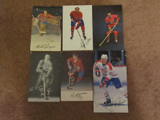 EIGHTY THREE Montreal Canadiens Postcards 1960's to 1990's.  Lafleur RC, etc.