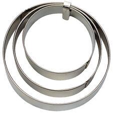 Ausstechform Terrassen-Ausstecher Ring, 3-teilig,