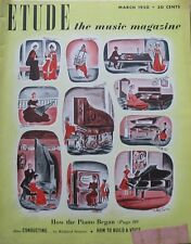 SUPERIOR SHIPPING Etude  The Music Magazine March 1950