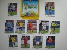 Album + ECUADOR VERSION PANINI WORLD CUP BRASIL 2014 11 SPECIAL STICKERS
