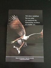 "Franklin Mint ""Master of the Wilderness"" Eagle Brochure (Ruyckevelt)"