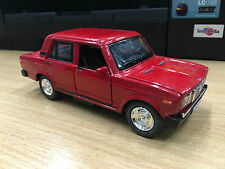VAZ 2107 LADA rouge voiture miniature Lumière & son Jouet cadeau