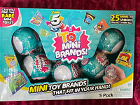 NEW Zuru 5 Surprise Toy Series Mini Brands Ball Capsule 5 Pack NISB IN HAND