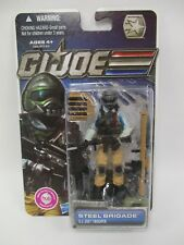 HASBRO G.I JOE COBRA PURSUIT OF COBRA POC 30TH ANNIVERSARY STEEL BRIGADE MOC