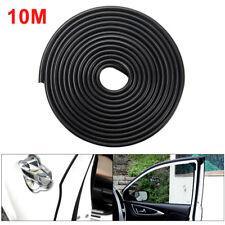 10m Car Door Boot Edge Protector Strip Trim UShape Guard Seal Rubber Strip Black